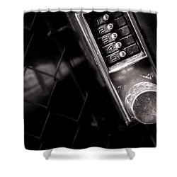 12345 Shower Curtain by Bob Orsillo