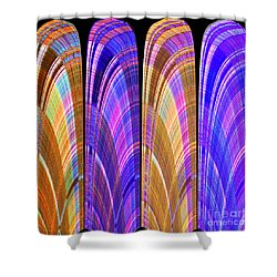 1260 Abstract Thought Shower Curtain