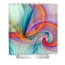 1260 Shower Curtain