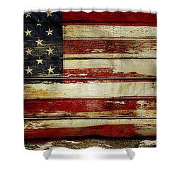 American Flag 54 Shower Curtain