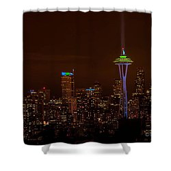 12th Man Light Shower Curtain