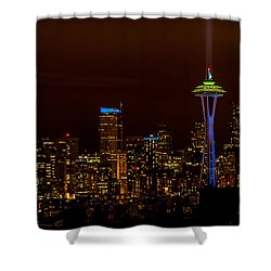 12th Man Light New Shower Curtain
