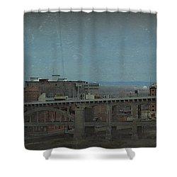 12th Street Bridge  Kansas City Missouri Shower Curtain