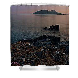 Blasket Islands Shower Curtain