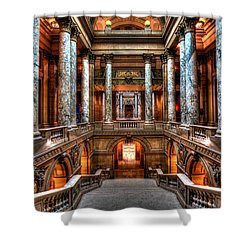Minnesota State Capitol Shower Curtain by Amanda Stadther