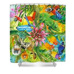 Wonders Of Nature Shower Curtain