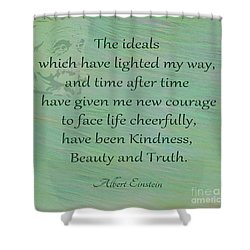 132- Albert Einstein Shower Curtain