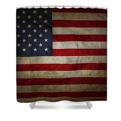 American Flag 56 Shower Curtain