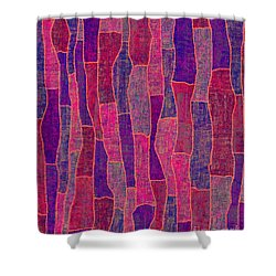 1344 Abstract Thought Shower Curtain