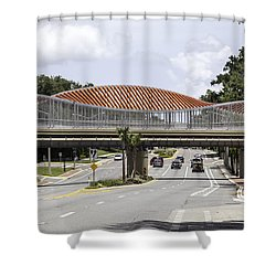 13th Street Rails To Trails Trestle Shower Curtain