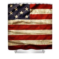 American Flag 59 Shower Curtain