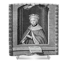 1400s 1480s Portrait King Edward V Shower Curtain