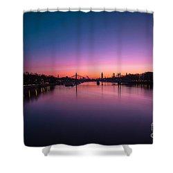 London Shower Curtain by Mariusz Czajkowski