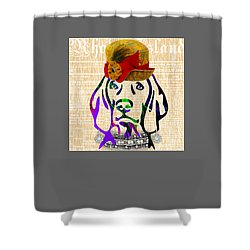 Weimaraner Collection Shower Curtain by Marvin Blaine