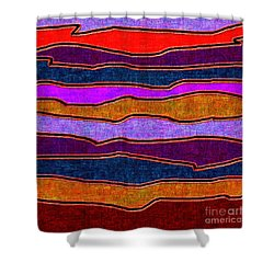 1536 Abstract Thought Shower Curtain