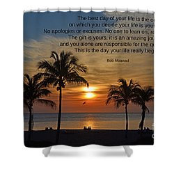 154- Bob Moawad Shower Curtain