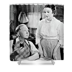 Shower Curtain featuring the photograph W.c. Fields by Granger