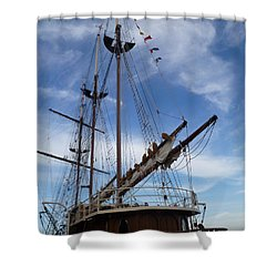 1812 Tall Ships Peacemaker Shower Curtain
