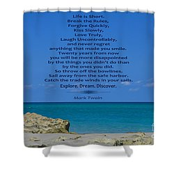 186- Mark Twain Shower Curtain