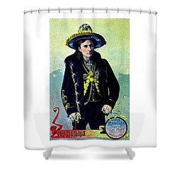 1880 Lighthall's Medicine Show Shower Curtain
