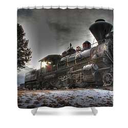 1880 Train Shower Curtain