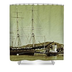 1886 Balclutha Shower Curtain
