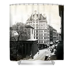 1890 Tremont Street Boston Shower Curtain