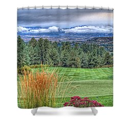 18th At The Ridge Shower Curtain