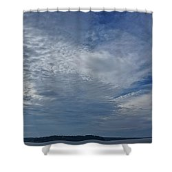 18th Birthday Sky Shower Curtain