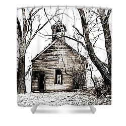 1904 School House Memory Shower Curtain