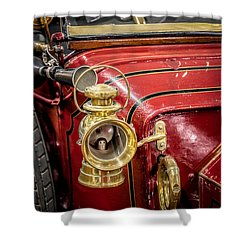 1912 Star Victoria Shower Curtain by Adrian Evans