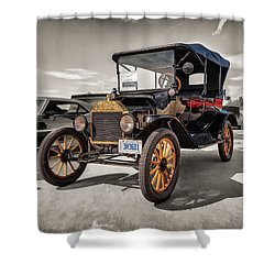 1916 Ford Model T Shower Curtain
