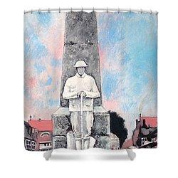 1921 War Memorial Shower Curtain