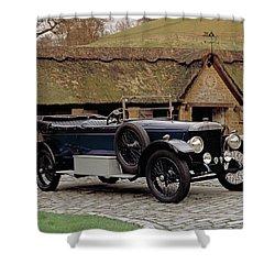 1922 Daimler 30hp, 5.0 Litre 2-door Shower Curtain