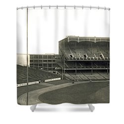 1923 Yankee Stadium Shower Curtain by Underwood Archives