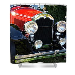1924 Buick Shower Curtain