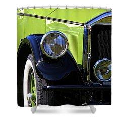 1926 Pierce Arrow Shower Curtain by Davandra Cribbie