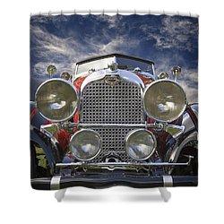 1928 Auburn Model 8-88 Speedster Shower Curtain