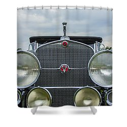 1930 Cadillac V-16 Shower Curtain