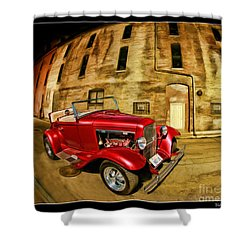 1930 Ford Model A Shower Curtain