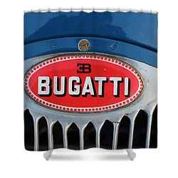 1930's Ettore Bugatti Shower Curtain
