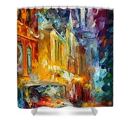 1930's Shower Curtain by Leonid Afremov
