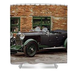 1932 Lagonda 2.0 Litre Supercharged Shower Curtain