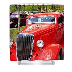 1934 Ford Classic Car Shower Curtain