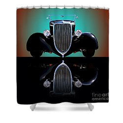 1934 Ford Phaeton Convertible Shower Curtain