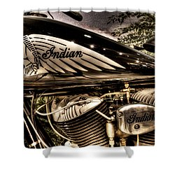 1934 Indian Chief Shower Curtain