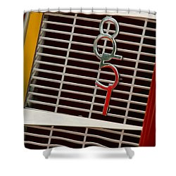 1935 Auburn 851 Cabriolet Grille Emblem Shower Curtain