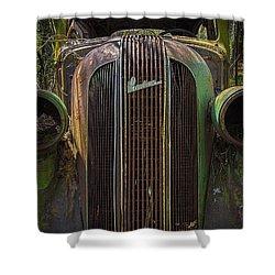 1936 Pontiac Head On Shower Curtain