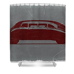 1936 Stout Scarab Shower Curtain by Naxart Studio