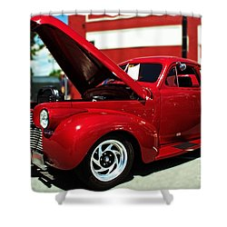 1940 Chevy Shower Curtain by Kevin Fortier